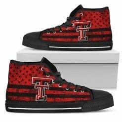 NCAA Texas Tech Red Raiders High Top Shoes