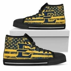 NCAA East Tennessee State Buccaneers High Top Shoes