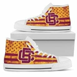 NCAA Bethune-Cookman Wildcats High Top Shoes
