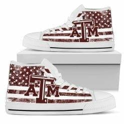 NCAA Texas A&M Aggies High Top Shoes