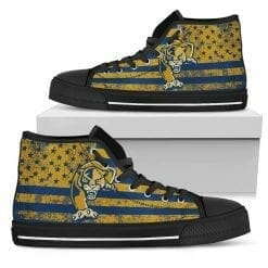 NCAA FIU Golden Panthers High Top Shoes
