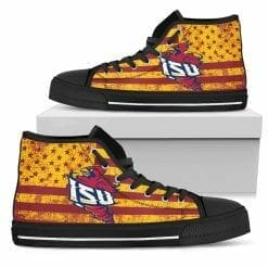 NCAA Iowa State Cyclones High Top Shoes