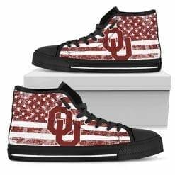 NCAA Oklahoma Sooners High Top Shoes
