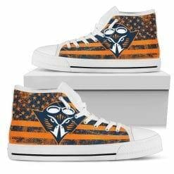 NCAA Tennessee-Martin Skyhawks High Top Shoes