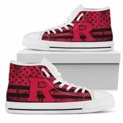 NCAA Rutgers Scarlet Knights High Top Shoes