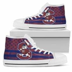 NCAA South Carolina State Bulldogs High Top Shoes