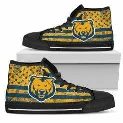 NCAA Northern Colorado Bears High Top Shoes