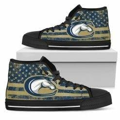 NCAA UC Davis Aggies High Top Shoes