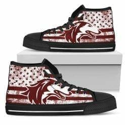NCAA Southern Illinois Salukis High Top Shoes