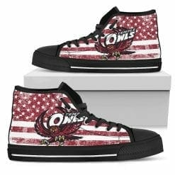 NCAA Temple Owls High Top Shoes