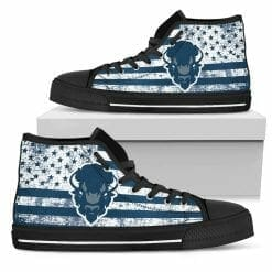 NCAA Howard Bison High Top Shoes