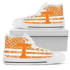 NCAA Tennessee Volunteers High Top Shoes