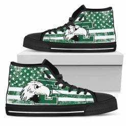 NCAA Eastern Michigan Eagles High Top Shoes