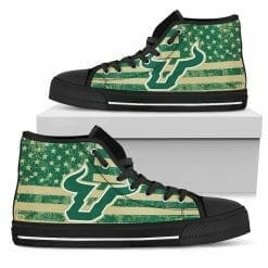 NCAA South Florida Bulls High Top Shoes