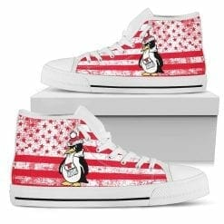 NCAA Youngstown State Penguins High Top Shoes