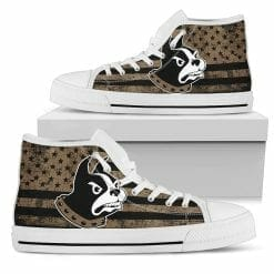 NCAA Wofford Terriers High Top Shoes