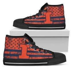 NCAA Illinois Fighting Illini High Top Shoes