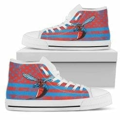 NCAA Delaware State Hornets High Top Shoes