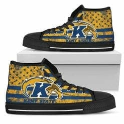 NCAA Kent State Golden Flashes High Top Shoes