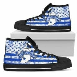 NCAA Indiana State Sycamores High Top Shoes