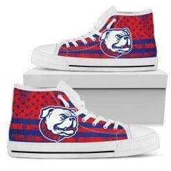 NCAA Louisiana Tech Bulldogs High Top Shoes