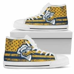 NCAA Chattanooga Mocs High Top Shoes
