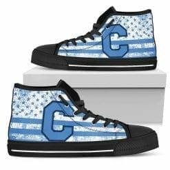 NCAA The Citadel Bulldogs High Top Shoes