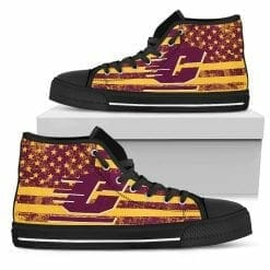 NCAA Central Michigan Chippewas High Top Shoes