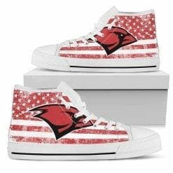 NCAA Incarnate Word Cardinals High Top Shoes