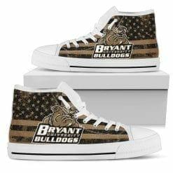 NCAA Bryant Bulldogs High Top Shoes