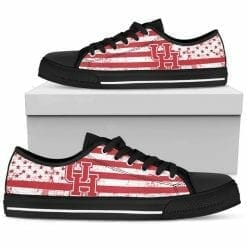NCAA Houston Cougars Low Top Shoes