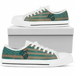 NCAA Coastal Carolina Chanticleers Low Top Shoes