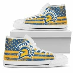 NCAA San Jose State Spartans High Top Shoes