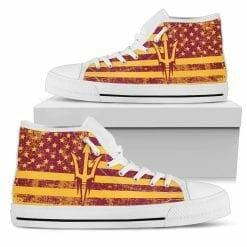 NCAA Arizona State Sun Devils High Top Shoes
