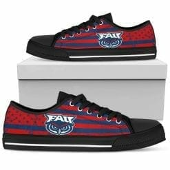 NCAA Florida Atlantic Owls Low Top Shoes