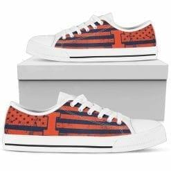 NCAA Illinois Fighting Illini Low Top Shoes