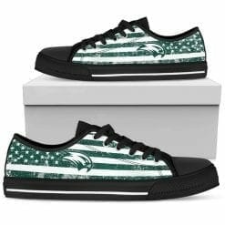 NCAA Wagner Seahawks Low Top Shoes