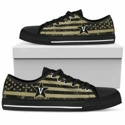 NCAA Vanderbilt Commodores Low Top Shoes