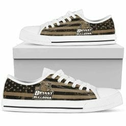NCAA Bryant Bulldogs Low Top Shoes
