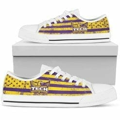 NCAA Tennessee Tech Golden Eagles Low Top Shoes