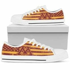 NCAA Minnesota Golden Gophers Low Top Shoes
