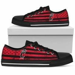 NCAA Cincinnati Bearcats Low Top Shoes