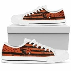 NCAA Oregon State Beavers Low Top Shoes