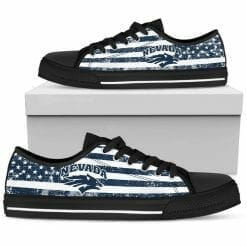 NCAA Nevada Wolf Pack Low Top Shoes