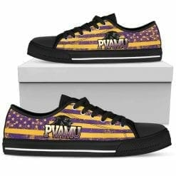 NCAA Prairie View A&M Panthers Low Top Shoes
