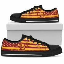 NCAA Louisiana-Monroe Warhawks Low Top Shoes