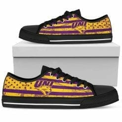 NCAA Northern Iowa Panthers Low Top Shoes