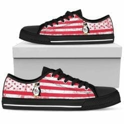 NCAA Youngstown State Penguins Low Top Shoes