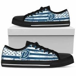 NCAA Drake Bulldogs Low Top Shoes