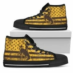NCAA Wyoming Cowboys High Top Shoes
